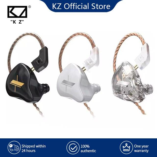 KZ EDX Earphones 1 Dynamic HIFI Bass Earbuds In Ear Monitor Headphones Sport Noise Cancelling Headset 1