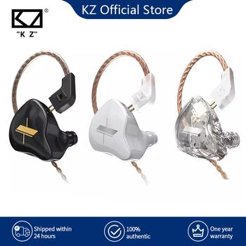KZ EDX słuchawki 1 dynamiczne słuchawki douszne HIFI Bass w uchu słuchawki sportowe słuchawki z redukcją szumów tanie i dobre opinie Zaczepiane na uchu Dynamiczny CN (pochodzenie) PRZEWODOWY 112dBdB 1 25+5cmm do telefonu komórkowego Do kafejki internetowej