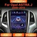 Автомагнитола для Opel ASTRA J 2009, 2010-2015, Android 9,0, GPS-навигация, стерео, вертикальный IPS экран, мультимедийный видеоплеер 2din