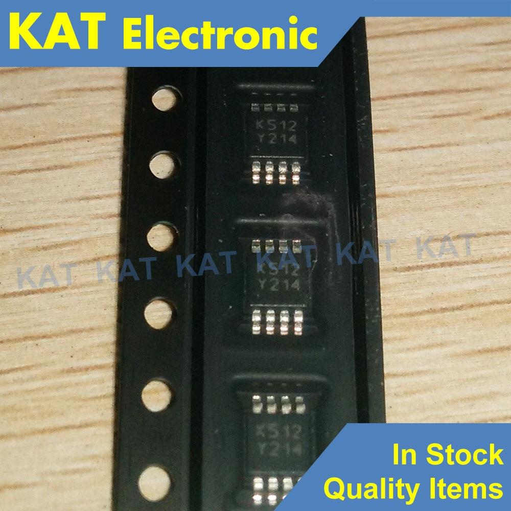 5PCS/Lot LM293ST Marking Code K512 MSOP-8 Low Power Dual Voltage Comparators