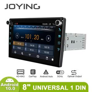 Image 4 - JOYING Android 10.0 head unit 8 inch IPS 1280*720 4GB+64GB car radio player GPS Navigation stereo RDS  DSP support 4G&Carplay&BT