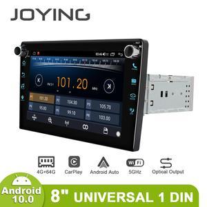Image 4 - Joyingアンドロイド10.0ヘッドユニットカー8インチips 1280*720 4ギガバイト + 64ギガバイト車ラジオプレーヤーgpsナビゲーションステレオrds dspサポート4グラム & carplay & bt