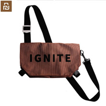 Original xiaomi mijia tasche einfache tasche reise reise rucksack wasserdichte taschen digitale spiel lagerung tasche outdoor sport rucksack