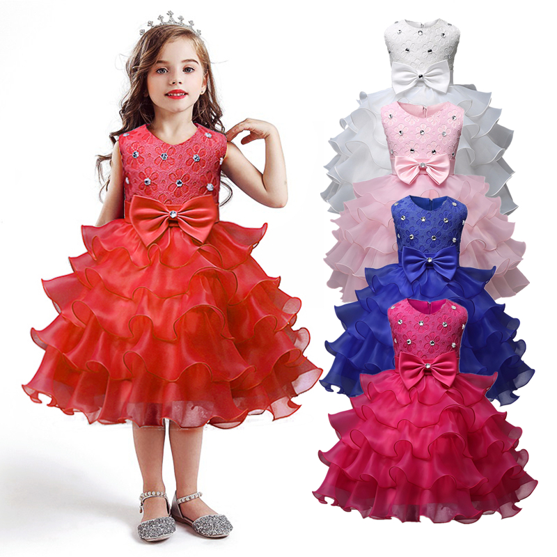 Baby Girl Clothes Kids Dresses For Girls Christmas Clothing Santa Claus Princess Dress New Year Party Children Cosplay Costume