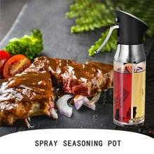 200 мл 1 шт кухонная стеклянная бутылка для выпечки оливкового масла спрей масло с уксусом распылитель бутылка для приправ соевый соус пустая бутылка для BBQ1