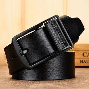 Image 5 - [DWTS] حزام حزام جلد الذكور الرجال الذكور حزام جلد طبيعي أحزمة للرجال البقر جلد طبيعي الفاخرة حزام الرجال حزام