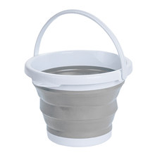 Large Silicone Folding Bucket Collapsible Mop Buckets for Cleaning Car Washing Fishing Kitchen Bathroom Household Items(China)