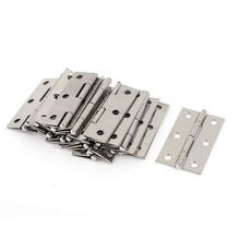 2.5 inches Long 6 Mounting Holes Stainless Steel Butt Hinges 20 Pcs (Pack of 20) tings crunchy corn sticks 6 ounce bags pack of 12