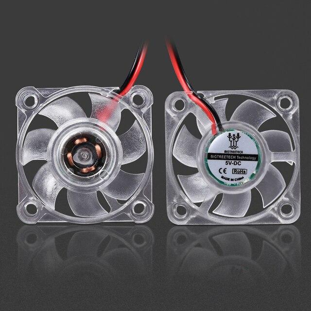 Imprimante 3D pièces 3010 4010 ventilateur de refroidissement lumière LED refroidisseur ventilateur lumineux hydraulique roulement ventilateur Mini 5 V/12 V radiateur pour V6 Hotend