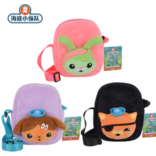 Original Octonauts Cartoon Bag Plush Toys Tweak Kwazii Dashi Animal Stuffed Schoolbag Backpack Christmas Gift Girl Toy