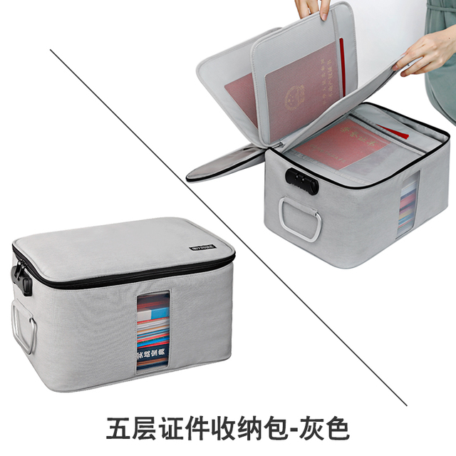 Zipper Storage Bag Large Clothes Luggage Compression Lock Reclosable Storage Bag Portable Travel Home Organization OO50SN 5