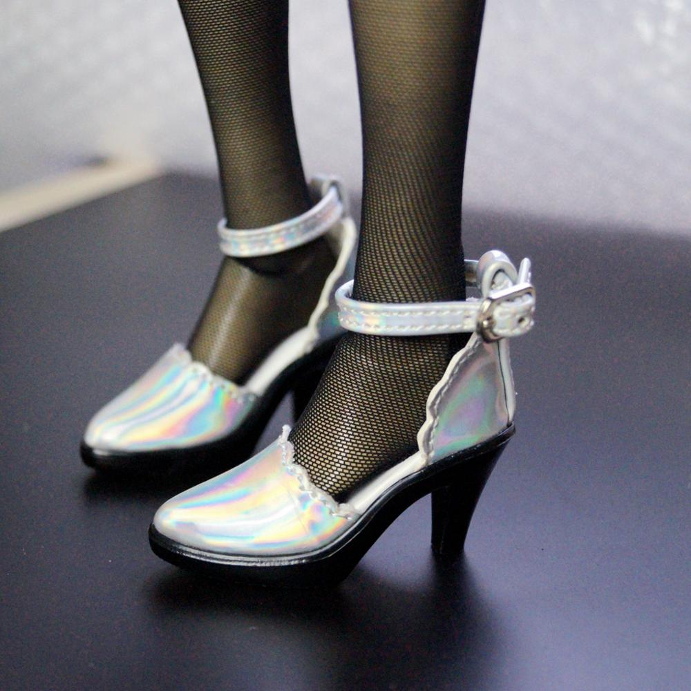 BJD Synthetic Leather Shiny High Heel SHoes For 1/4 17