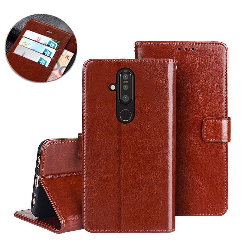 Luxury Wallet <font><b>Case</b></font> For <font><b>Nokia</b></font> 1 2.1 3.1 5.1 6.1 7.1 <font><b>8.1</b></font> Plus 9 <font><b>Case</b></font> Flip Leather <font><b>Silicon</b></font> <font><b>Case</b></font> For <font><b>Nokia</b></font> X5 X6 X7 2.2 3.2 4.2 Capa image