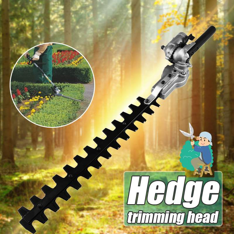 9 Teeth Pole Hedge Trimmer Bush Cutter Head Grass Trimmers For Garden Multi Tool Pole Chainsaw Garden Power Tools