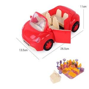 Image 5 - Peppa Pig George Speelgoed Set Roadster Station Wagon Huis Bus Poppen Set Action Figure Anime Speelgoed Voor Kinderen Cartoon Verjaardag gift