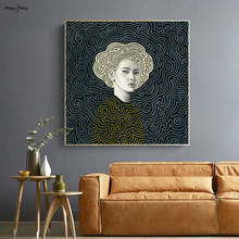 Vintage Decorative Figures Posters and Prints Aesthetic Canvas Painting Pictures Luxury Wall Art Bedroom Decor Home Decoration
