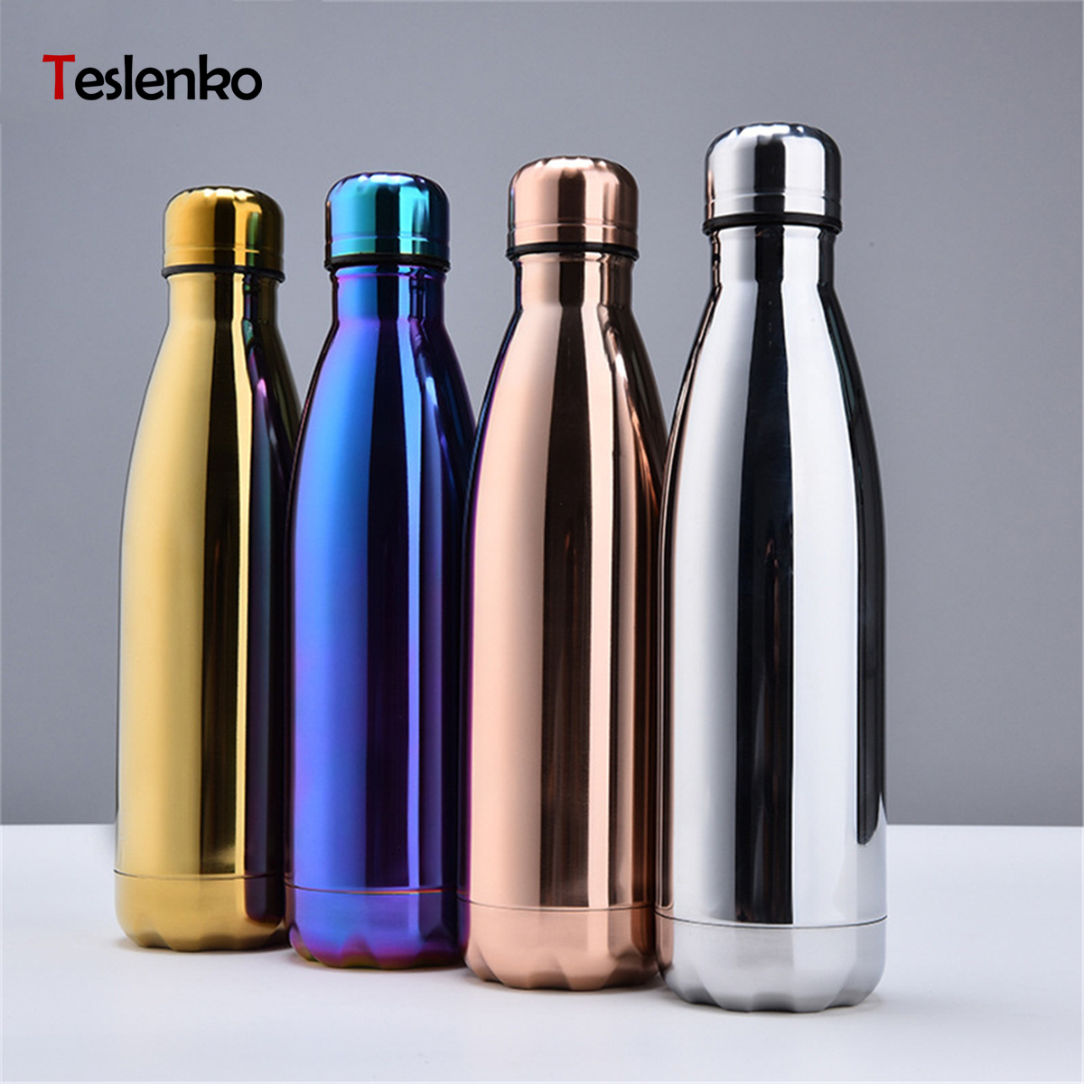 LOGO Customize Stainless Steel Thermos Vacuum Insulated Cup Bottle For Water Bottles Double Wall Travel Drinkware Sports Flask|Water Bottles|   - AliExpress