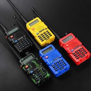 Image 2 - 4PCS Baofeng UV 5R Two Way Radio Dual Band 136 174/400 480Mhz  5W Walkie Talkie