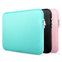 Zíper portátil notebook caso tablet manga capa saco 12