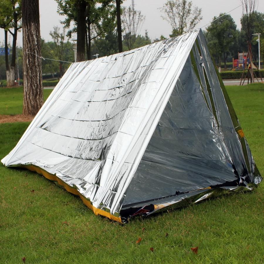 Emergency Tent Outdoor Survival Blanket Emergency Blanket Insulation Blanket J Simplicity Tent Sun-resistant Space Blanket