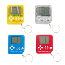 Mini Console Game Machine Brick Game Console Keychain Mini Game Consoles Electronic Pets With Hanging Chain Gaming Suitable