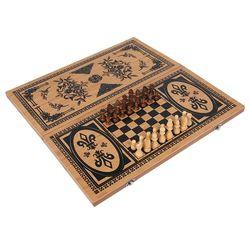 2021 novo produto 3 em 1 clássico xadrez boutique xadrez presente de madeira quebra-cabeça dobrável xadrez para crianças presentes de aniversário natal