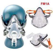 Горячая полная маска для лица CPAP Авто CPAP BiPAP маска с бесплатным головным убором белый для апноэ сна OSAS храп людей респиратор маски