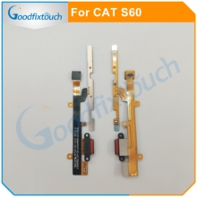 For Caterpillar Cat S60 USB Charger Charging Port Dock Flex Cable Power Charging Button For Caterpillar CAT S60 Replacement Part