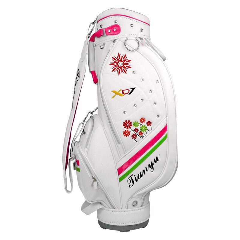 Sac de Golf Standard pour femmes sac de chariot de Golf étanche sacs d'airbag de personnel de balle de grande capacité avec bandoulière D0641