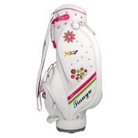 Women Standard Golf Bag Waterproof Golf Cart Bag Large Capacity Ball Staff Airbag Bags with Shoulder Strap D0641