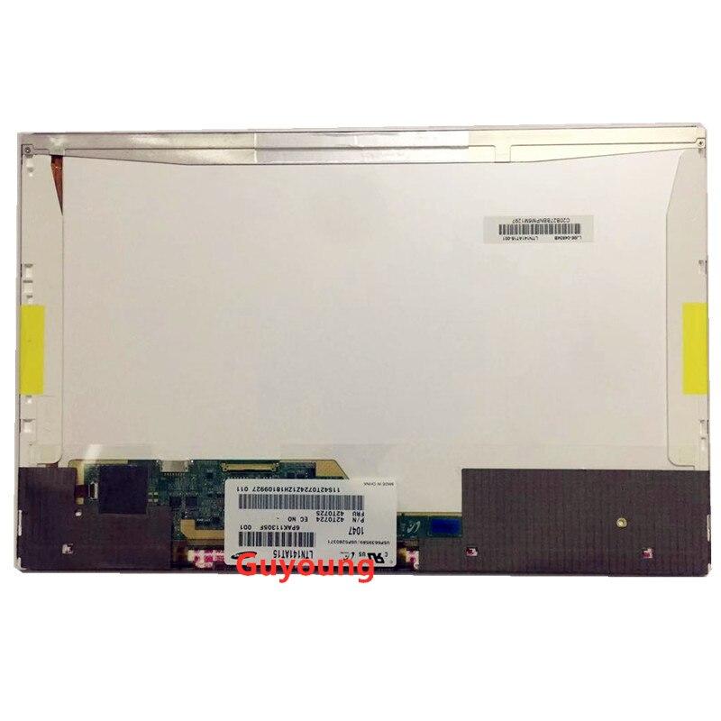 Portátil led tela lcd para lenovo thinkpad t410 t410i ltn141at15 lp141wx5 tlp3 b141pw04 v.0 grau a + tela 40pin