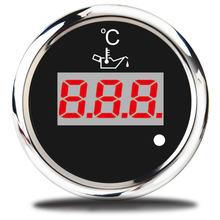 Jauge de température numérique universelle, pour voiture, moto, 52mm, 50 ~ 150 Celsius, capteur de température d'huile, 12V
