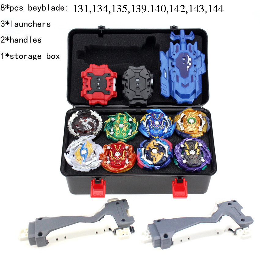 TAKARA TOMY Combination <font><b>Beyblade</b></font> Burst Set Toys Beyblades Arena Bayblade Metal Fusion 4D with Launcher Spinning Top Toys AA image