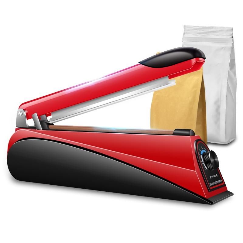 Image 4 - 220V 8 Inch Impulse Sealer Heat Sealing Machine Kitchen Food Sealer Vacuum Bag Sealer Bag Packing Tools Eu Plug  Portable-in Vacuum Food Sealers from Home Appliances