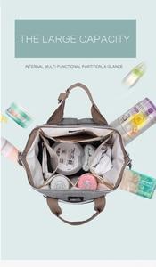 Image 4 - Sacs pour bébé Disney couches pour maman, sac à dos de maternité mode maman organisateur de couches Mickey Minnie pour poussette, chariot, landau