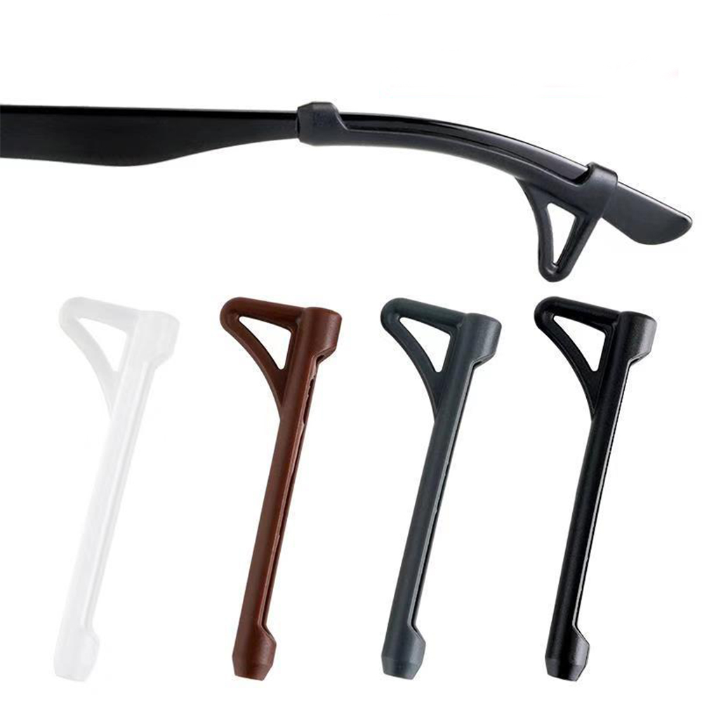 Glasses Anti-slip Ear Hook Eye Frame Legs Silicone Fixed Ear Hooks Clip Ears Behind The Anti-drop Hook Accessories Foot Cover