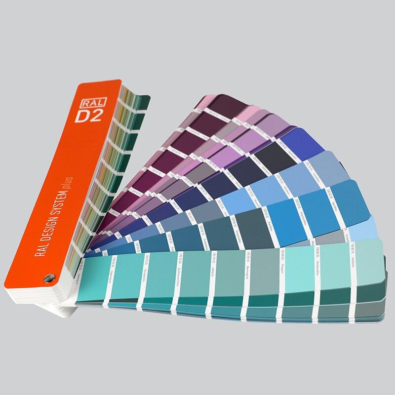 German Ral Raul Standard Color Card Designer D2 Architectural Paint Flooring Paint Color Sample Color Card 1825