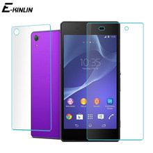 9H Front Back Rear Protective Film For Sony Xperia Z Z1 Z2 Z3 Z4 Z5 M4 M5 Compact Premium Plus Screen Protector Tempered Glass(China)