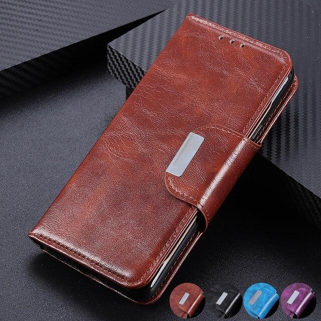 6 カードスロット財布 Xiaomi A3 Lite 9 SE 9T プロ Redmi 注 8 プロ 7 7A K20 プロ磁気閉鎖カードポケット