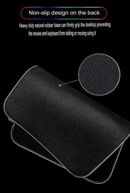 Купить большой коврик для мыши mairuige rgb со светодиодной подсветкой картинки цена
