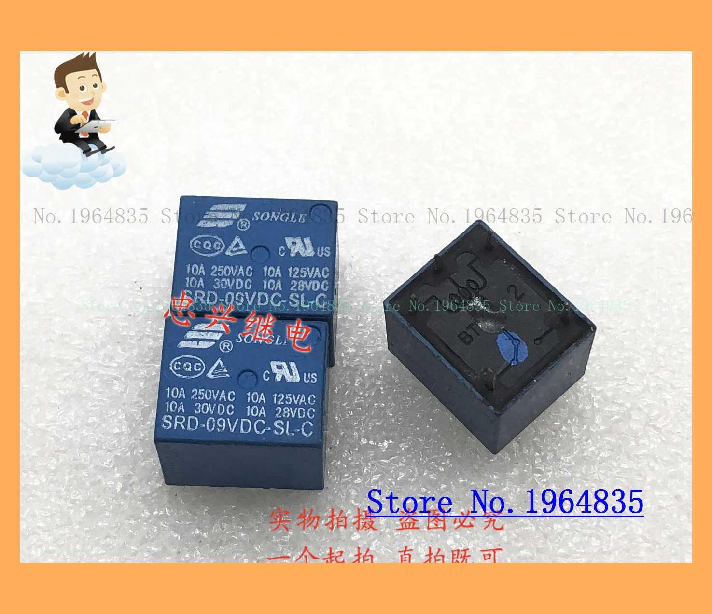 SRD-09VDC-SL-C 5 T73 10A 9VDC