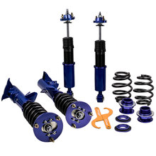 Coilover spring Suspension for BMW E36 M3 3 Series 1992 1997 Coil Strut Blue Sedan Coupes Touring 316 318 320 323 325 328 M3