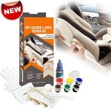 Liquid Skin Leather Repair Kit No Heat Leather Repair Tool Auto Car Seat Sofa Coats Holes Scratch Cracks Rips Restorer Cream