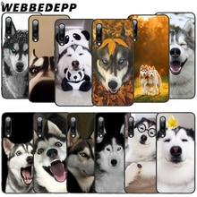WEBBEDEPP Humorous Husky Dog Soft TPU Case for Xiaomi Mi 6 8 A2 Lite 6 9 A1 Mix 2s Max 3 F1 9T A3 Pro CC9E Cover husky espace 6