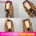 T1b/27 destaque 13x4 perucas do cabelo humano da parte dianteira do laço para as mulheres negras pré arrancadas brasileiro remy onda corpo 100% perucas de cabelo humano