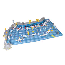 200Pieces Plastic Passenger Plane Model Aircraft Airlines Aeroplane Toy Gift(China)