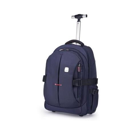 Weishengda Oxford Men Travel Trolley Backpack Bag Trolley Rolling Bags Women Wheeled Backpacks Business Bag Suitcase On Wheels