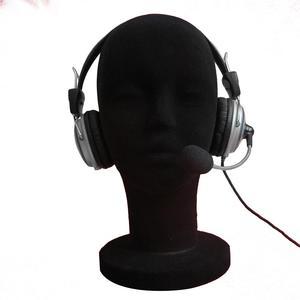 Foam Female Mannequin Head Man