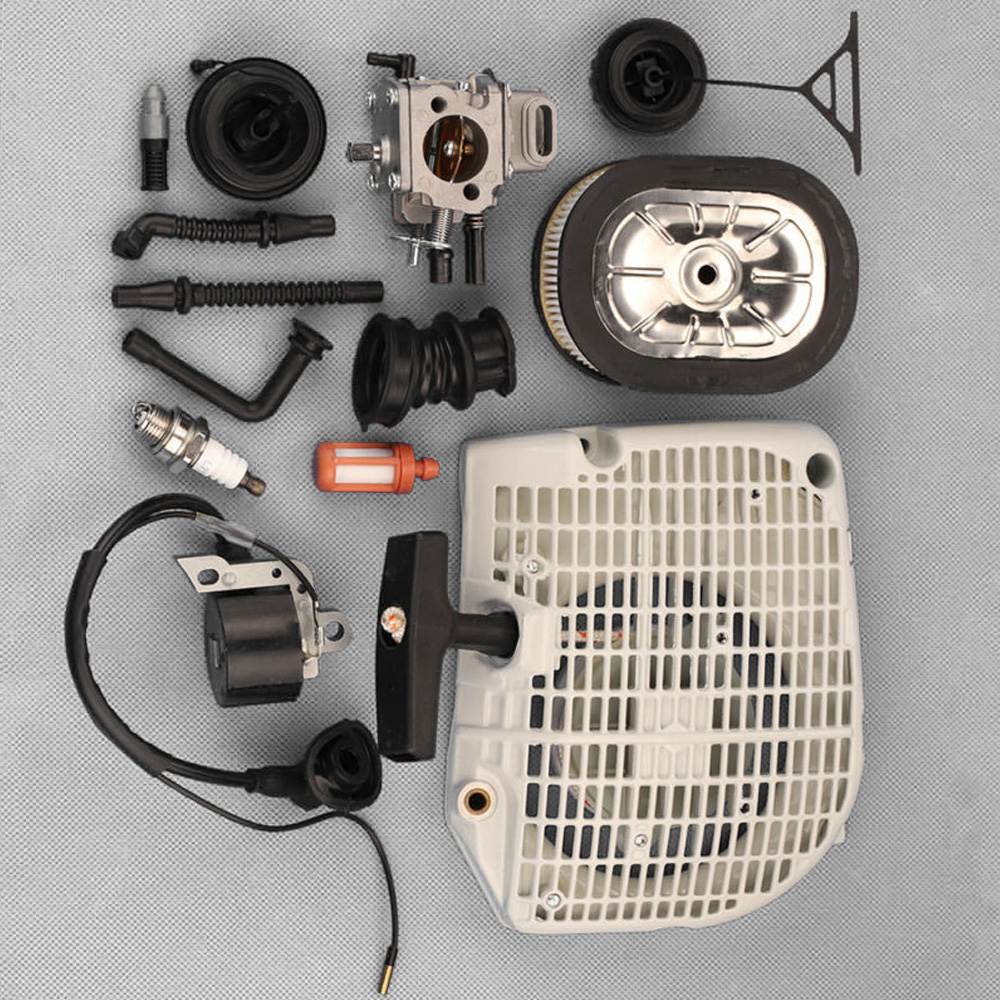100% brand new For Stihl 064 066 MS640 650 660 Chainsaw Recoil Starter Carburetor Kit C3A S31