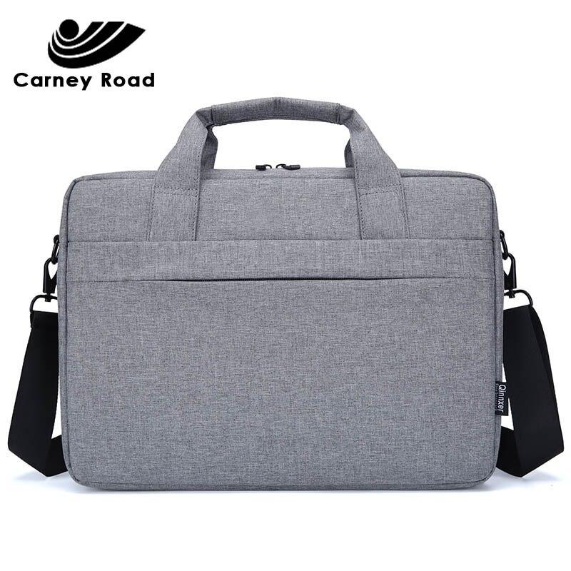 Business Men Briefcase 14 15.6 Inch Laptop Handbag Men Office Bag Messenger Large Tote Women's Computer Work Bag Handbag